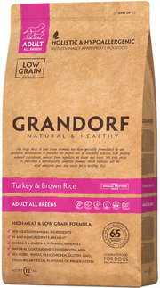 Grandorf Adult All Breed Turkey/ Rice фото