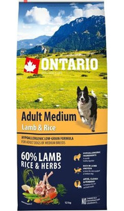 Ontario Adult Medium Lamb/Rice фото